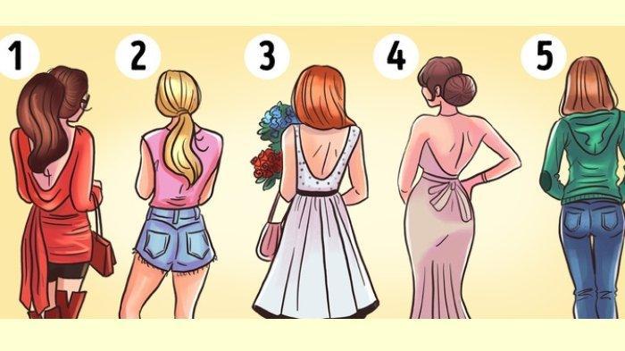 Tes Kepribadian: Wanita Mana yang Menarik? Pilihanmu Dapat Ungkap Kepribadianmu!