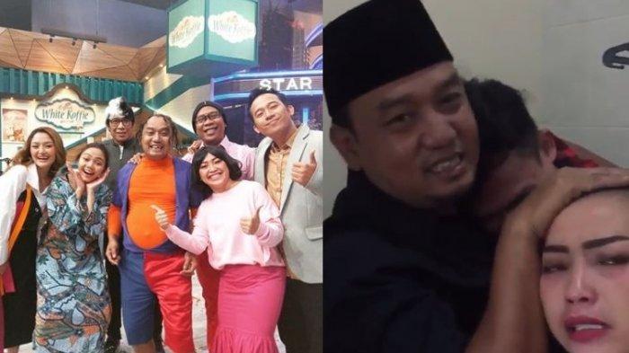 Azis Gagap Pamit dari OVJ, Mpok Alpa Bagikan Video Perpisahan di Balik Layar, Tak Kuat Tahan Tangis