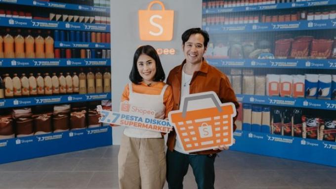 Belanja Kebutuhan Pokok di saat New Normal, Intip Shopee '7.7 Pesta Diskon Supermarket' Yuk