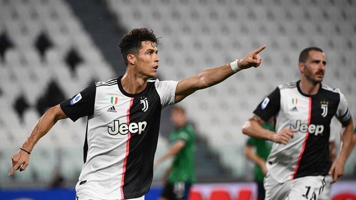 Juventus vs Lazio: Cristiano Ronaldo Jadi Andalan di Lini Depan Juventus