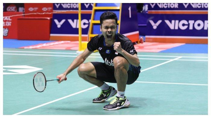 Live Streaming TV Online TVRI Semifinal Indonesia Masters 2020: Ginting vs Axelsen, Tanding Sore Ini