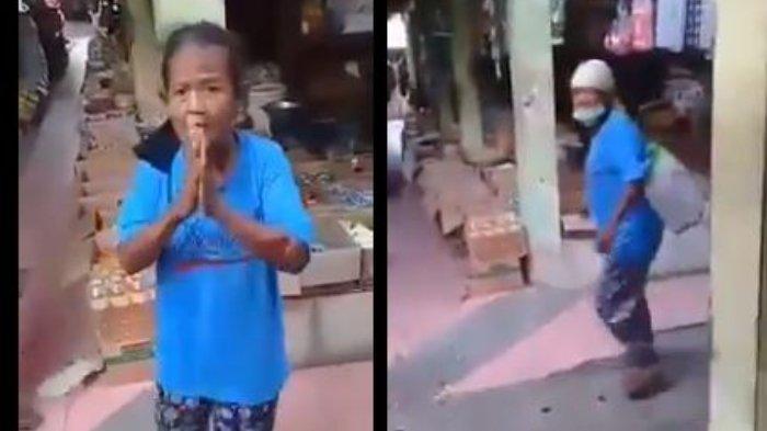 Tangis Anak dari Nenek Rubingah yang Viral, Setelah Lihat Video Ibunya Ditendang & Dituduh Mengutil