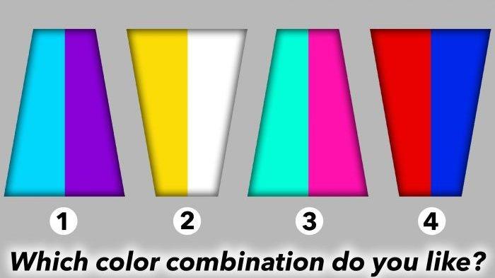 Tes Kepribadian: Kombinasi Warna Pilihanmu Dapat Mengungkapkan Kepribadianmu