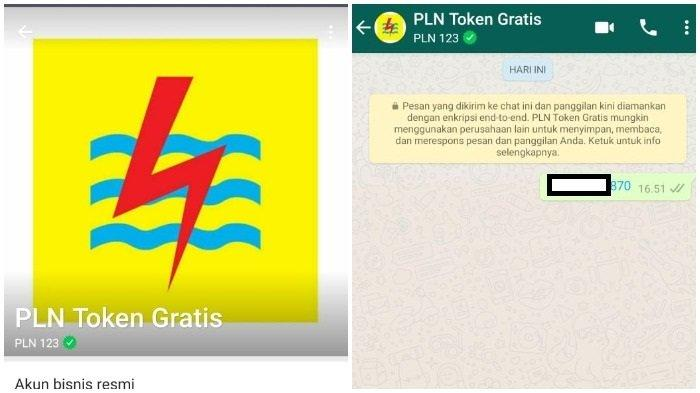 atau WA menuju 08122123123 LOGIN www.pln.co.id buat Token Listrik PLN Gratis serta Diskon 50 Persen