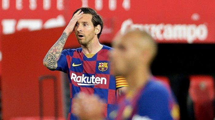 Blaugrana Kalah 1-2 Real Madrid Juara Liga Spanyol Hasil Barcelona vs Osasuna