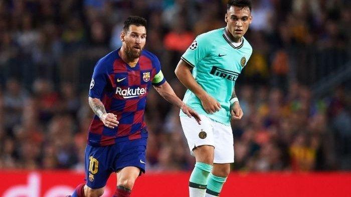 Dia Bisa Tumbuh Bersama Lionel Messi Jika Lautaro Martinez menuju Barcelona Scaloni
