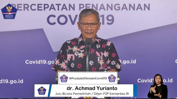 Total 63.749 Kasus Positif 29.105 Sembuh Update Kasus Corona di Indonesia Minggu (5/7/2020)