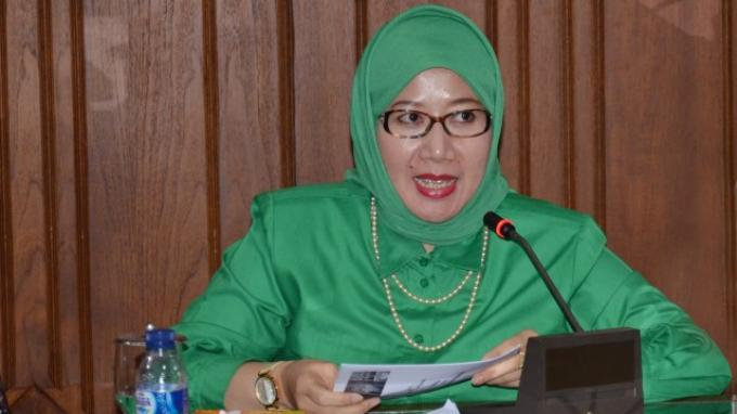 Wakil Ketua Umum DPP PPP yang Meninggal karena Serangan Jantung Profil Reni Marlinawati