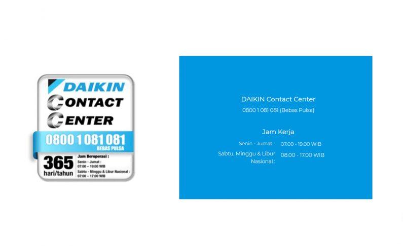 Daikin Service Center, Rekomendasi AC Berkualitas
